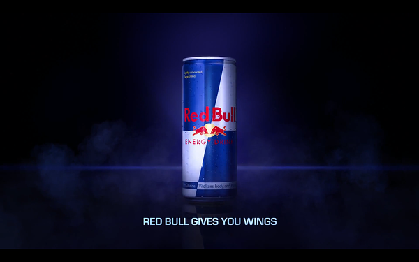 """A """"Red Bull Gives You Wings"""" advert to emphasise the importance of metaphor and analogies in ad copy"""